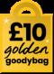 £10 Golden Goodybag
