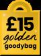 £15 Golden Goodybag