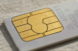 SIM card for SIM Only tariff