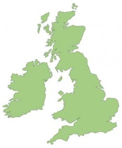 UK Mobile Coverage is provided by four providers