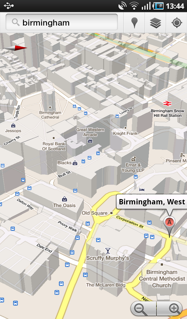 Google Launches 3D Maps On Android In The UK  Ken39s Tech Tips