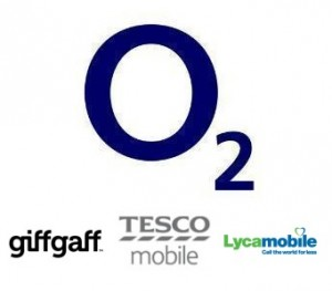 O2's MVNOs: giffgaff, Tesco Mobile and Lycamobile