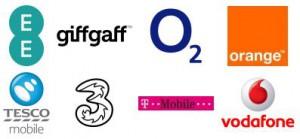 Mobile Network Logos