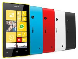 Lumia 520 Colours