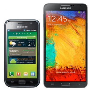 Galaxy S VS Galaxy Note 3