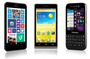 Smartphones from EE