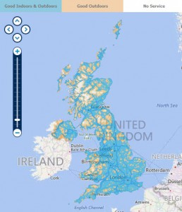 O2 Coverage Map