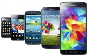 Galaxy S to Galaxy S5