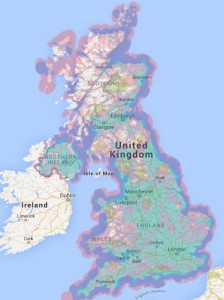 EE Coverage Map - May 2015