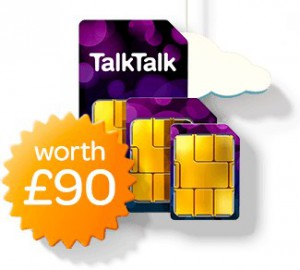 TalkTalk Plus TV Free SIM Card