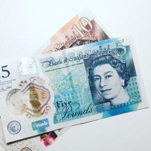 15 Pound Notes
