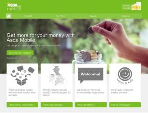 ASDA Mobile Website 2016