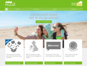 ASDA Mobile Website
