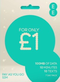 EE Pay As You Go - Data Pack
