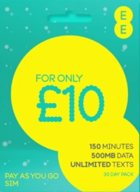 EE Pay As You Go - Everything Pack
