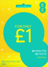 EE Pay As You Go - Talk and Text Pack