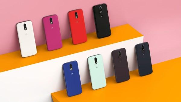 Moto G4 Colours