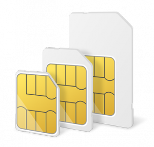 SIM Cards Stacked