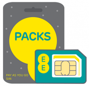 EE Pay As You Go SIM Card
