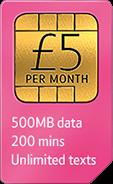 BT Mobile 500MB