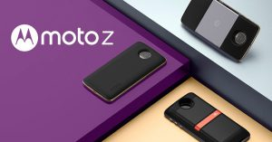 Moto Z with Moto Mods