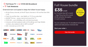 Virgin Media Full House