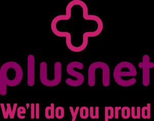 Plusnet Logo Proud