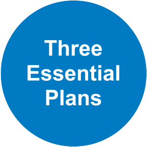 Three Essential Plans