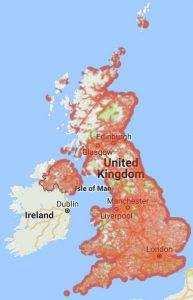 Tello UK Coverage Map 2017