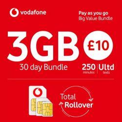 £10 Vodafone Bundle
