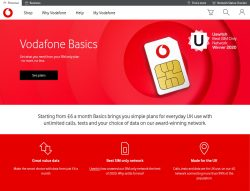 Vodafone Basics Sim Only Data Unlimited Calls From 6 Month