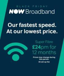 Now Broadband Black Friday Offer